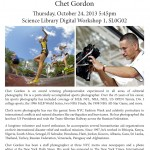Chet Gordon Flyer 2013a