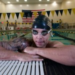 Dion Hart, Army swimmer.